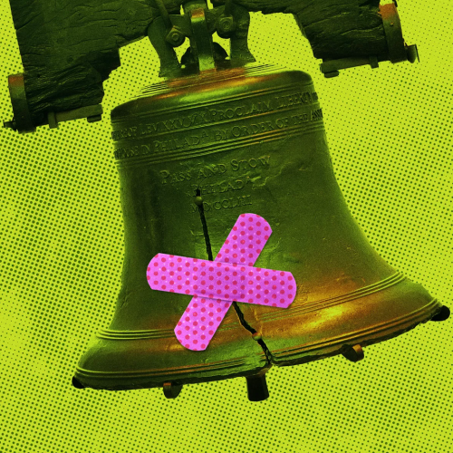 Image: Liberty Bell. Graphic