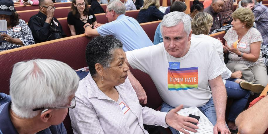 Photo: Courageous Conversations dialogue