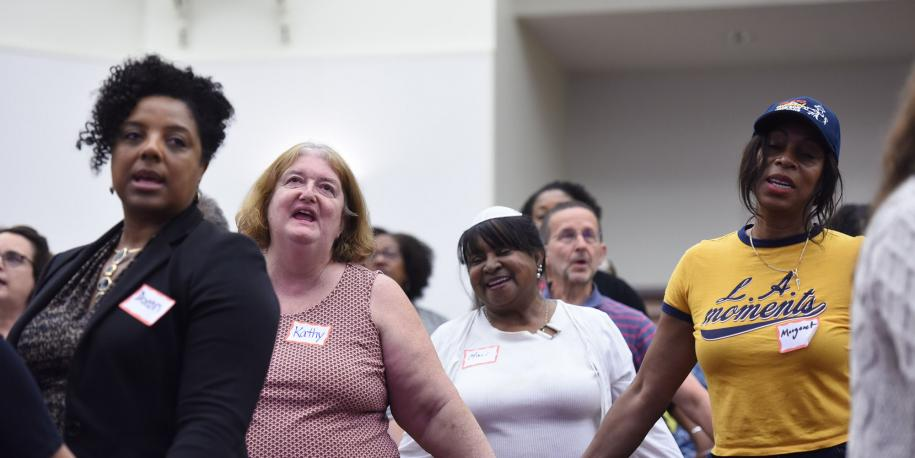 Photo: Courageous Conversations event