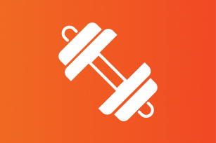 Image: Exercises icon knockout