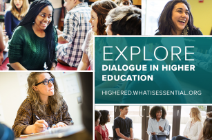 Graphic: Dialogue in Higher Education