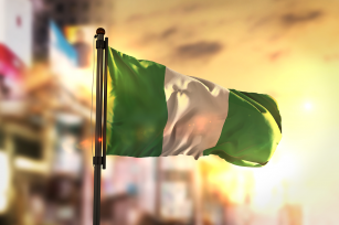 Photo: Nigerian flag